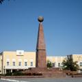 The center of Nukus — www.geocities.jp/uzbekfriends/index.html
