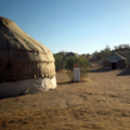 Yurt camp in Nurata