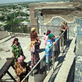 Observation deck on top of Ak-Saray palace
