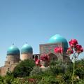 Kok Gumbaz Mosque in Shakhrisabz