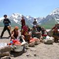 Gissar mountains