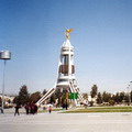 Monument of Neutrality in Ashgabat