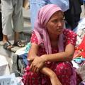 Market woman, Samarkand