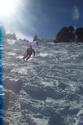 Skiing and snowboarding in Uzbekistan. Beldersay pictures