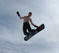 Snowboarding and Skiing in Uzbekistan. Chimgan pictures