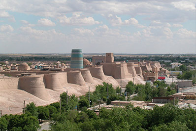 UNESCO World Heritage Sites in Central Asia