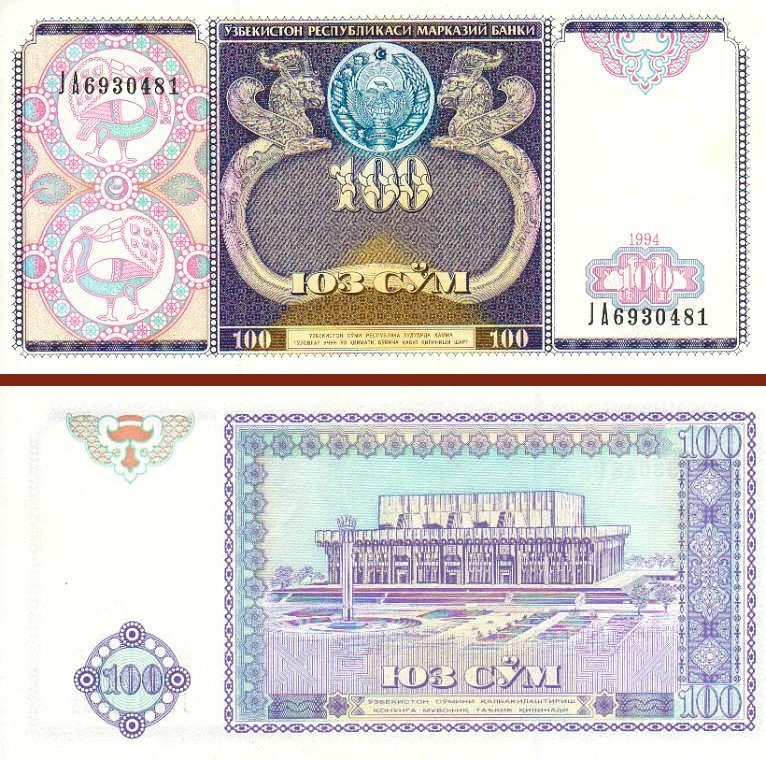 Национальная валюта Узбекистана. Актуальный курс валют в Узбекистане