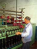 Traditional silk production of Margilan