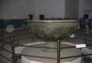 Holy Cauldron Taikazan in Turkestan, Kazakhstan