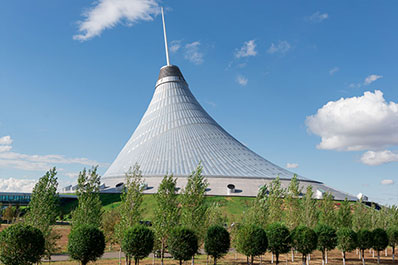 Khan Shatyr Entertainment Center, Nur-Sultan, Kazakhstan