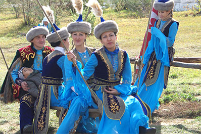 Kazakh National Dress