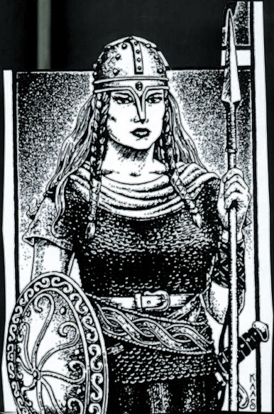 Gaukhar - the leader of Samarkand amazons