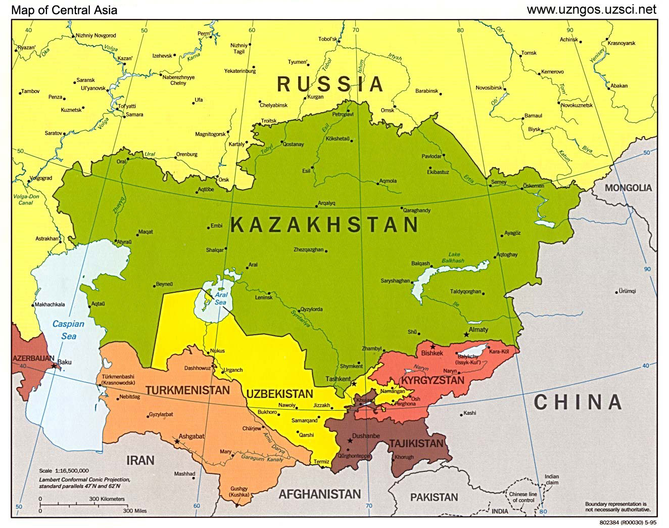 About Central Asia :: Central Asia travel. History of Central Asia ...