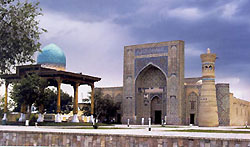 Memorial complex of Gijduvani in Bukhara