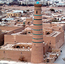 Madrassah of Arab-khan and Muhammad-Amin-inak, Khiva