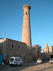 Minaret, madrassah and mosque of Seyid-biy