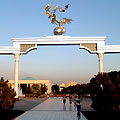 Pictures of Tashkent. Mustakillik - Independence Square