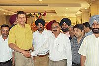 Индийская делегация PTAA