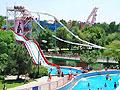 Pictures of Tashkent. Akua park