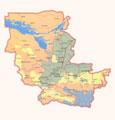 Map of Djizzak province.