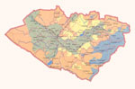 Map of Kashkadarya Province. Click for resize