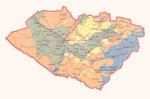 Map of Kashkadarya Province.