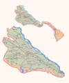 Map of Khorezm Province. Click for resize