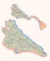 Map of Khorezm Province.