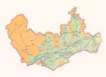 Map of Namangan Province.
