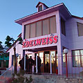 The Club-restaurant of Edelweiss motel