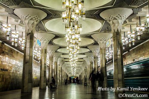 Tashkent Metro Pictures History And Map Of Tashkent Subway