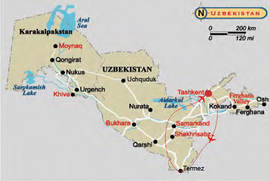 Towns and Sands. Historical & Architectural Tourism in Uzbekistan