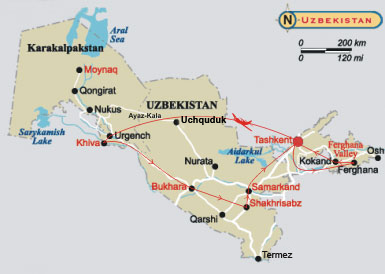 Uzbekistan - Core of Asia. Point of the East! . Historical & Architectural Tourism in Uzbekistan
