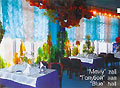 Tashkent TV Towe. Restaurant Koinot. Blue Hall
