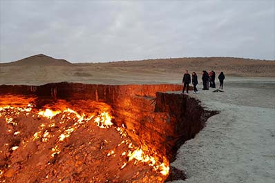 Two-day Darvaza Gas Crater Group Tour from Khiva 2020-2021