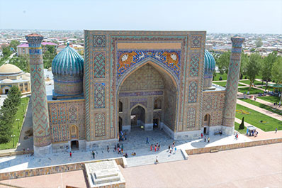 Golden Road to Samarkand Tour