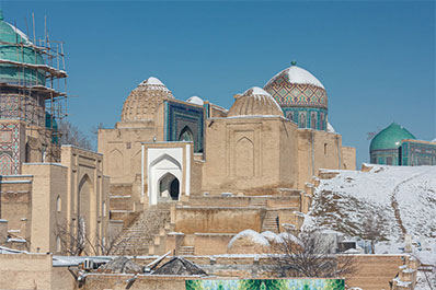 Winter Small Group Tour: New Year 2021 in Samarkand